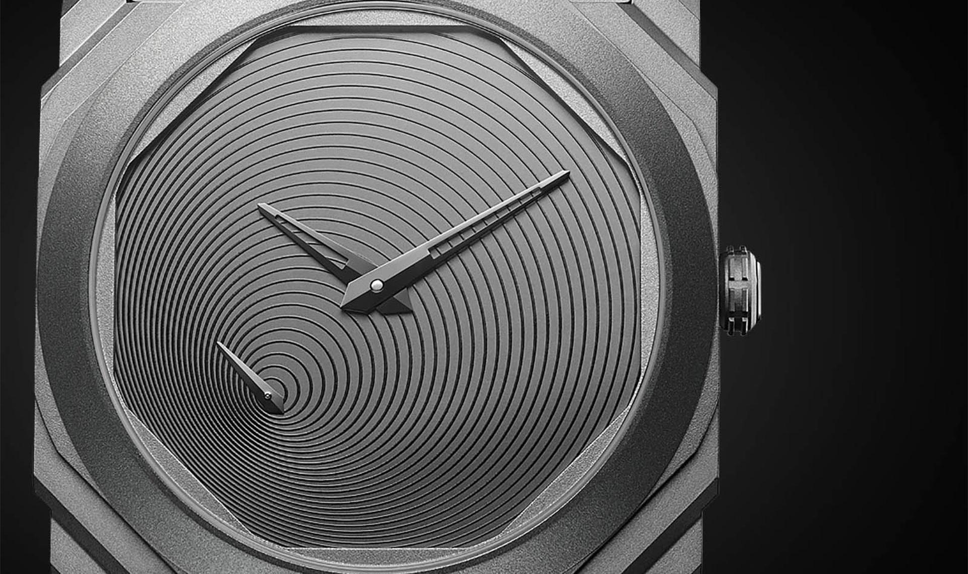 Тадао Андо создал дизайн часов для Bvlgari
