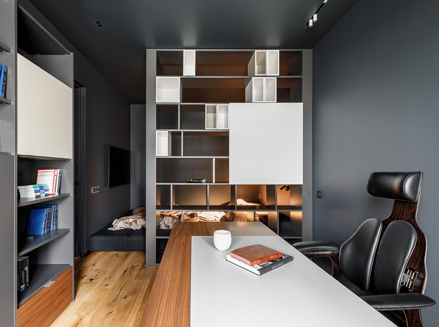 дизайн однокомнатной квартиры фото