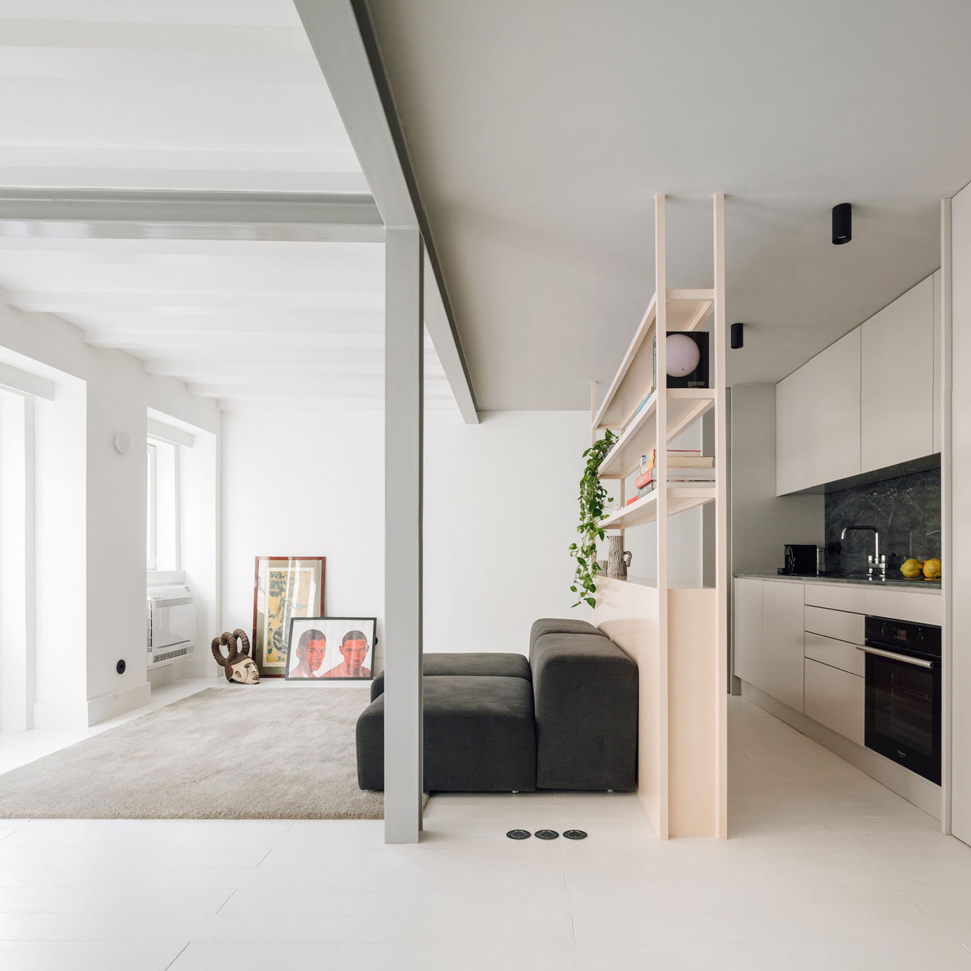 интерьер однокомнатной квартиры фото