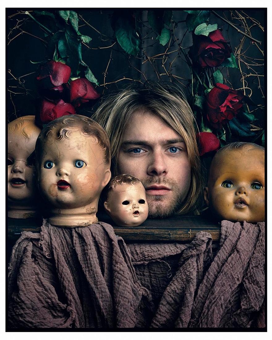 Кобейн среди кукол фото