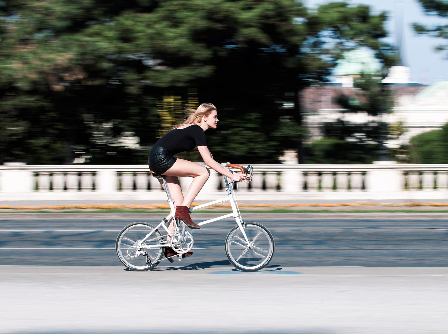 Складной велосипед фото