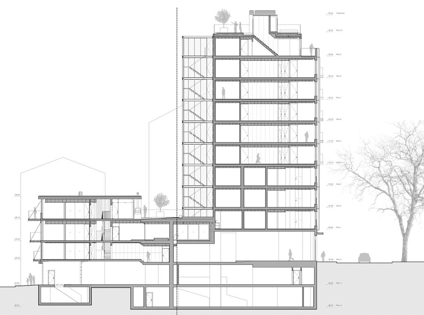 Планировка жилого дома фото