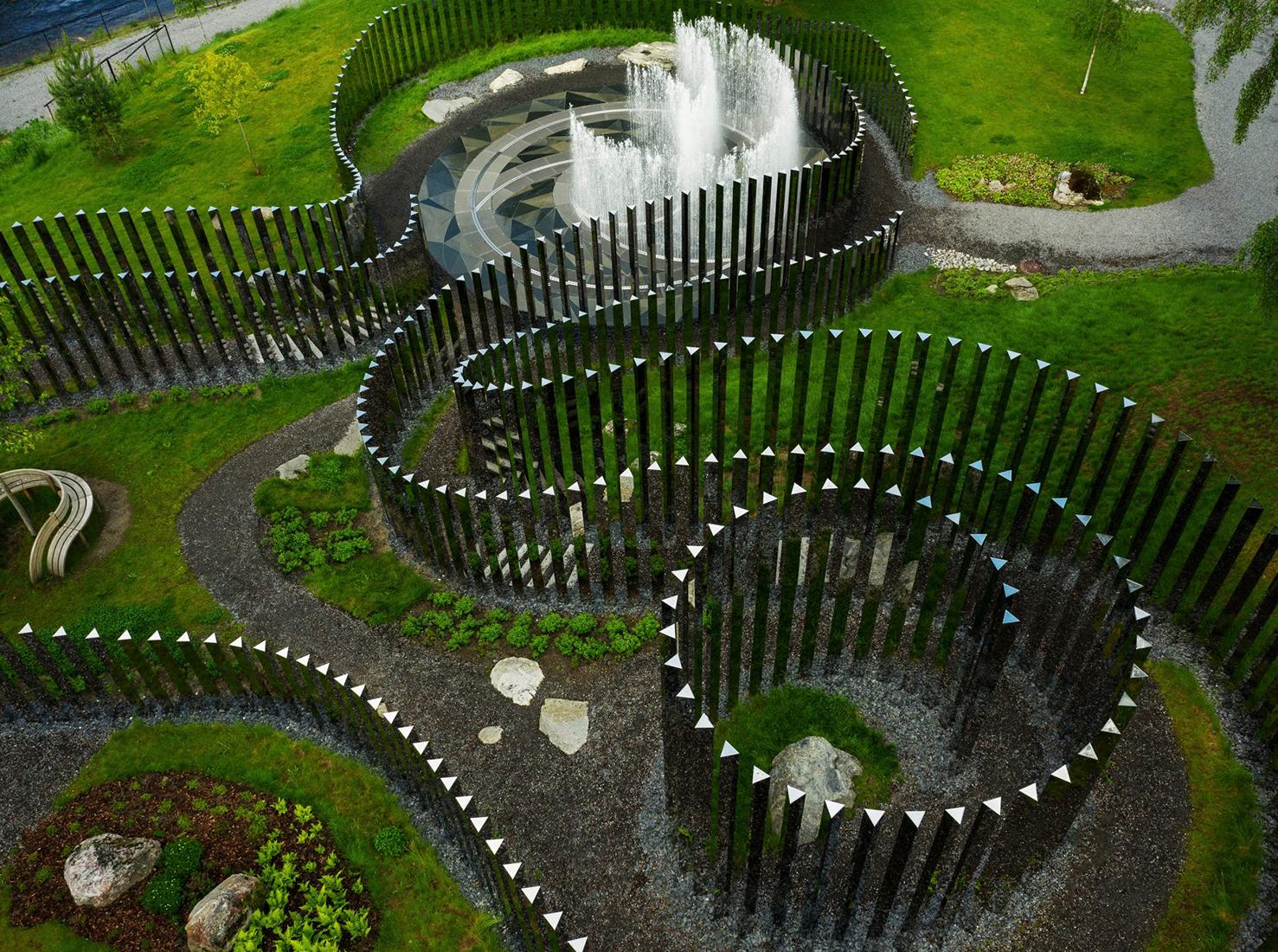 парк скульптуры фото
