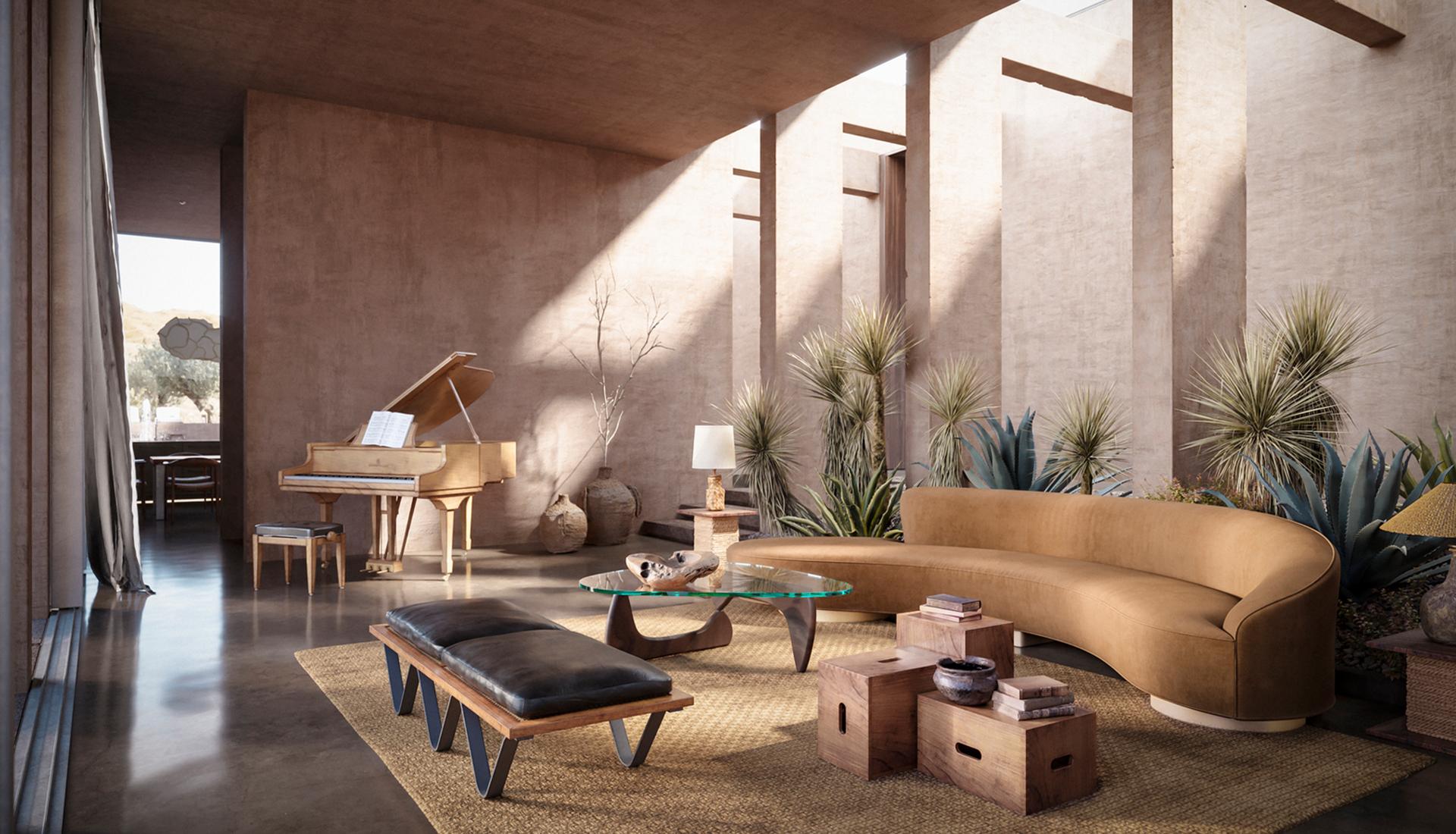 Дом в пустыне фото
