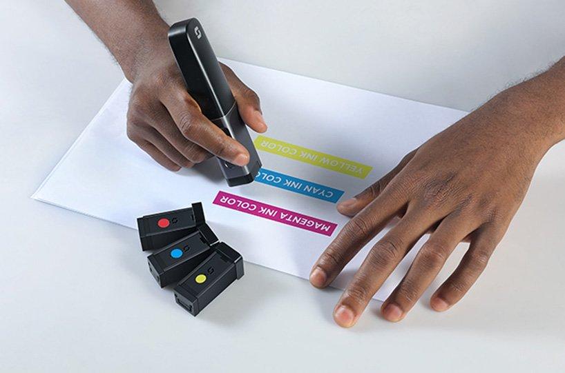 Портативный принтер фото