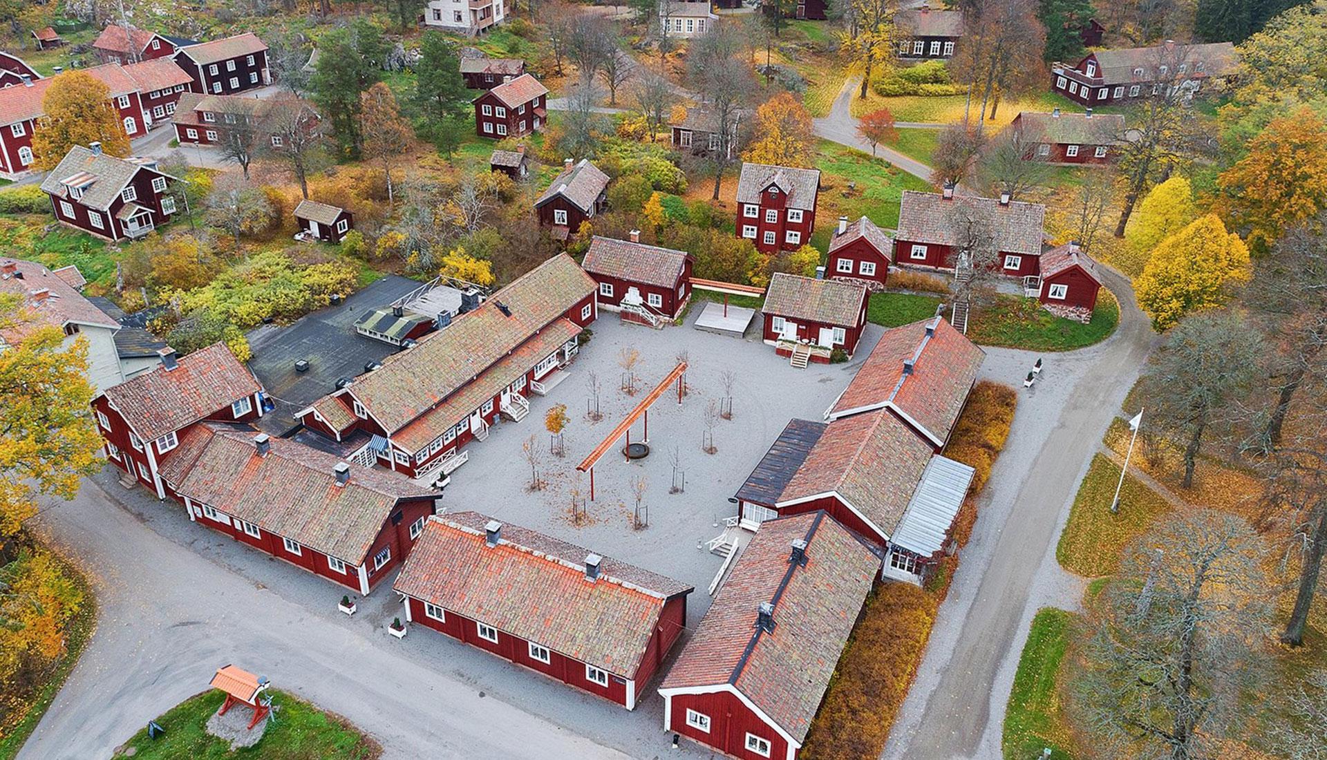 Шведская деревня фото