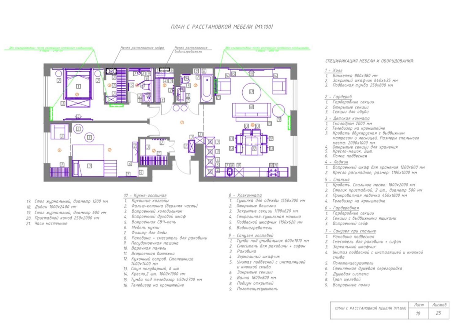 Планировка квартиры 100 кв. м фото