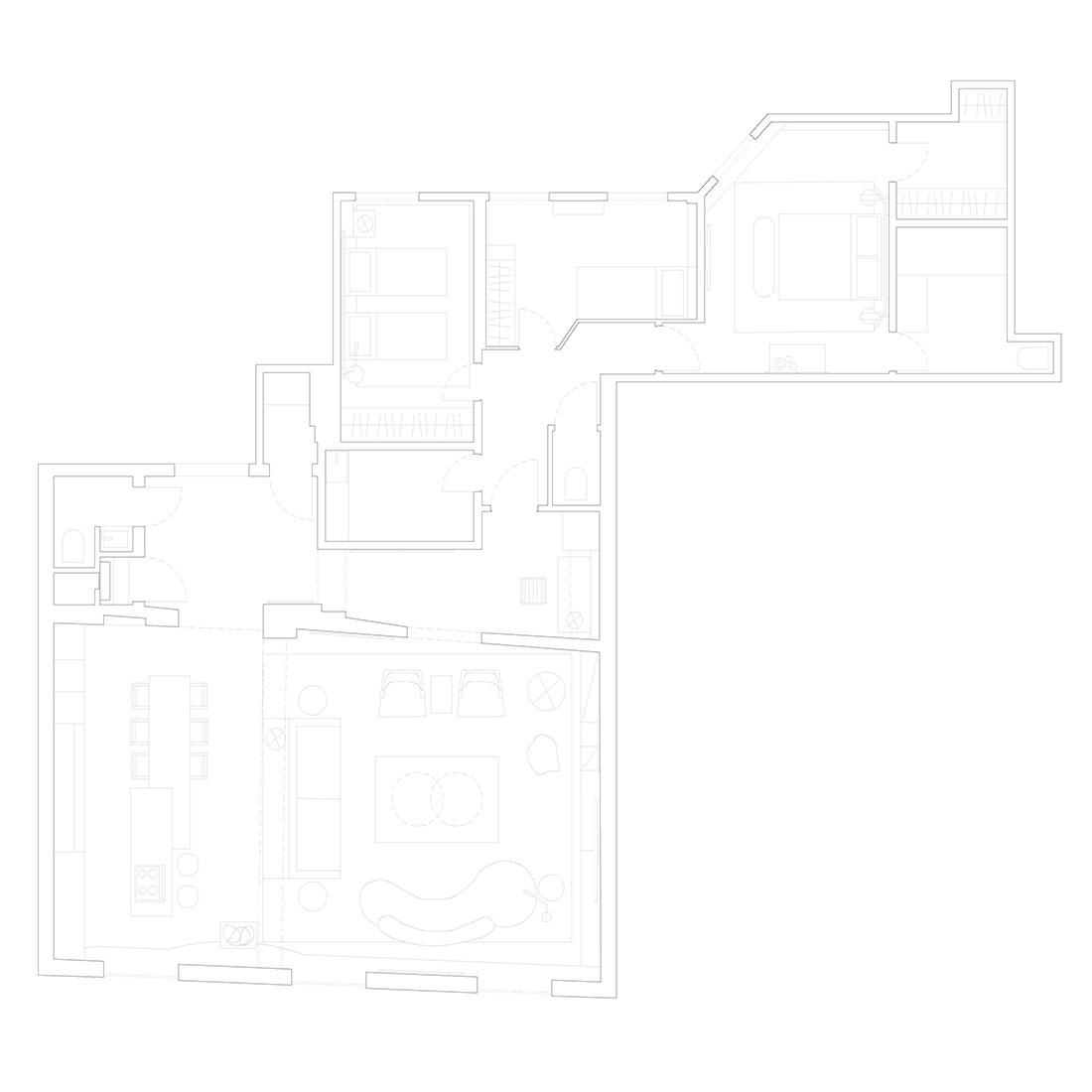 Планировка квартиры 200 кв метров фото
