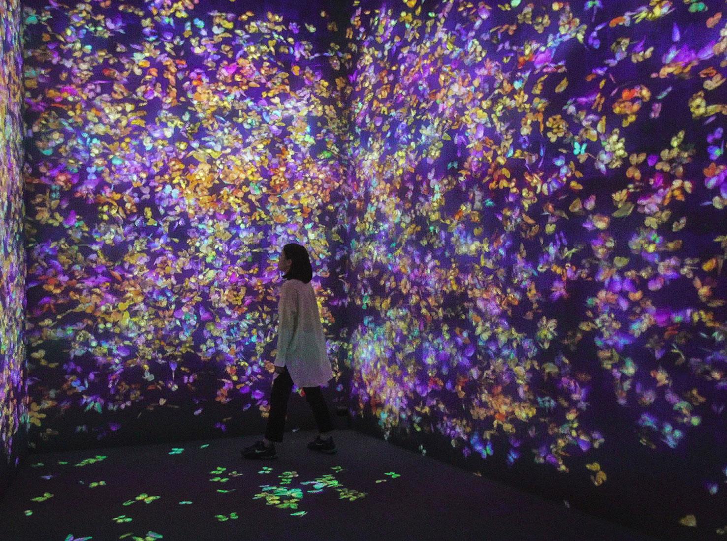 Музей цифрового искусства teamLab фото