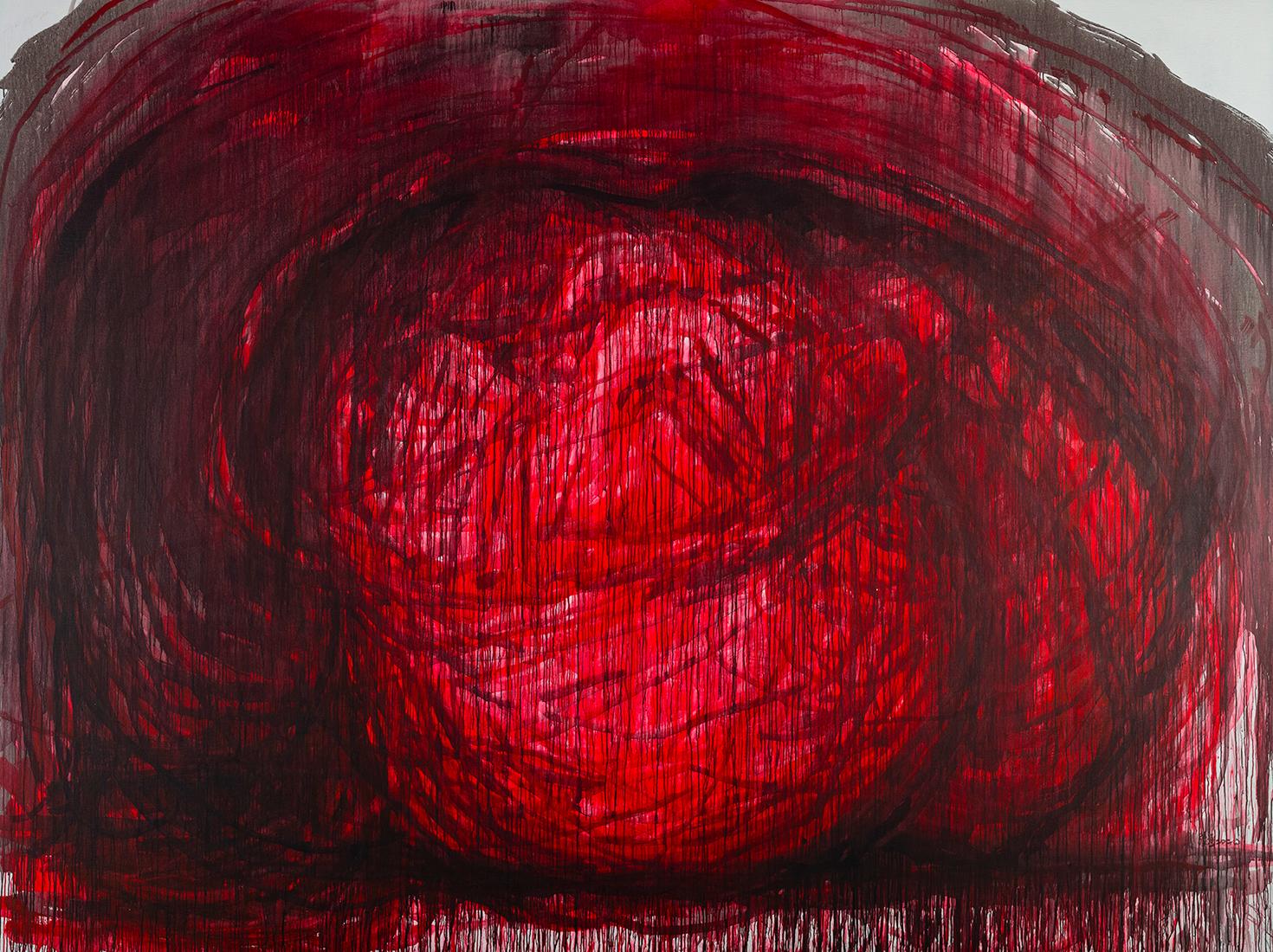 Выставка Чжан Хуаня фото
