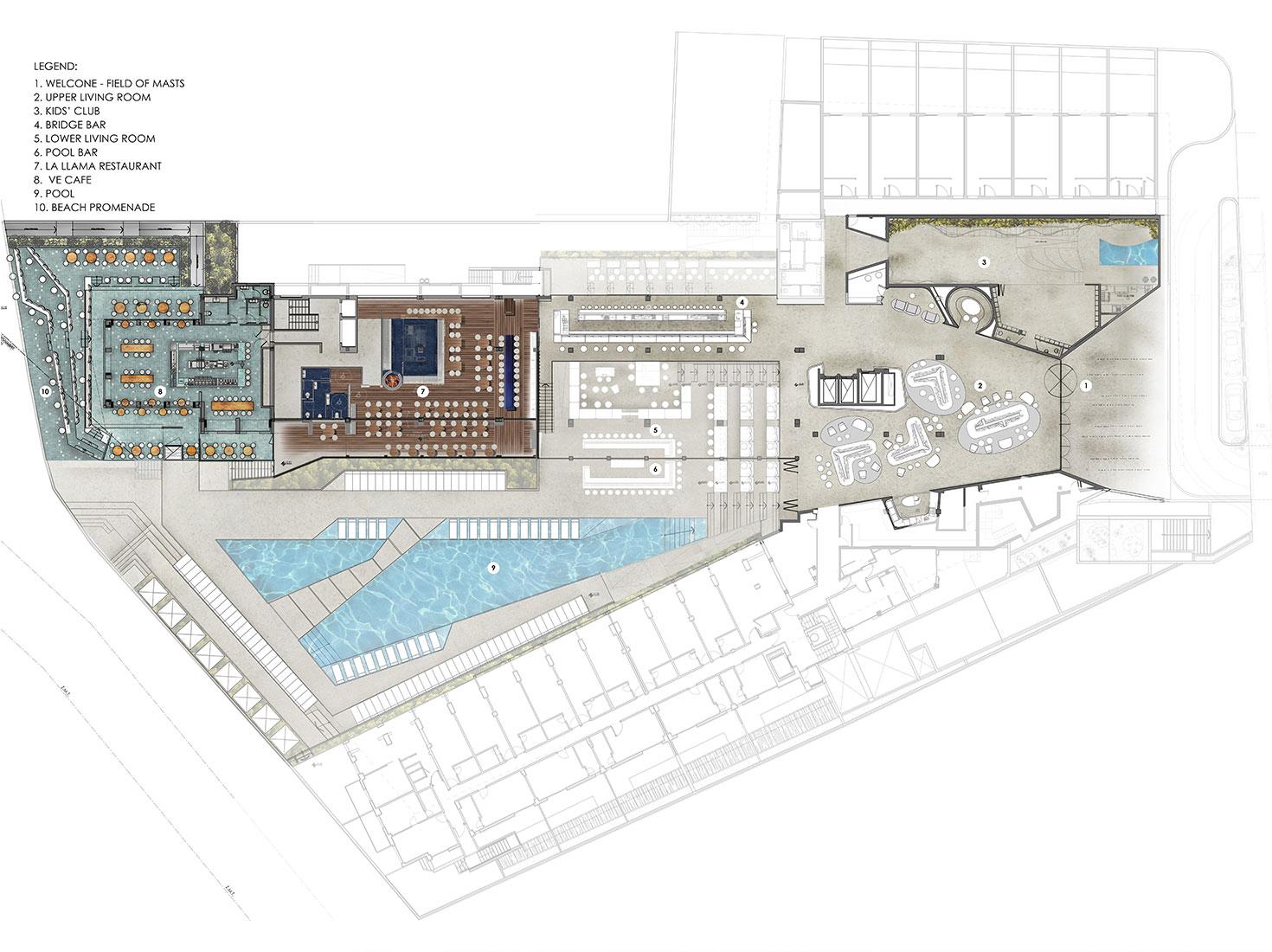 Отель W Ibiza проект фото