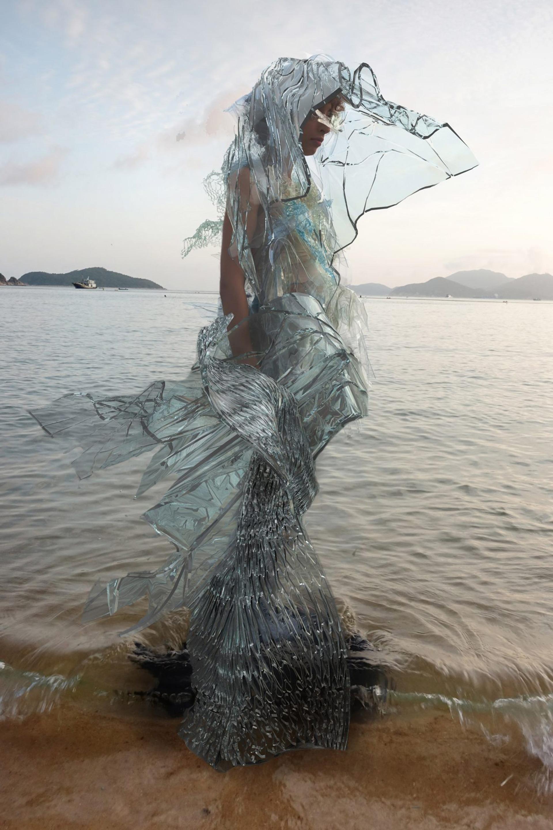 Одежда из водорослей фото