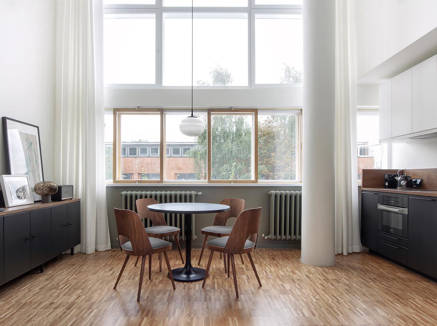 Квартира в доме наркомфина фото