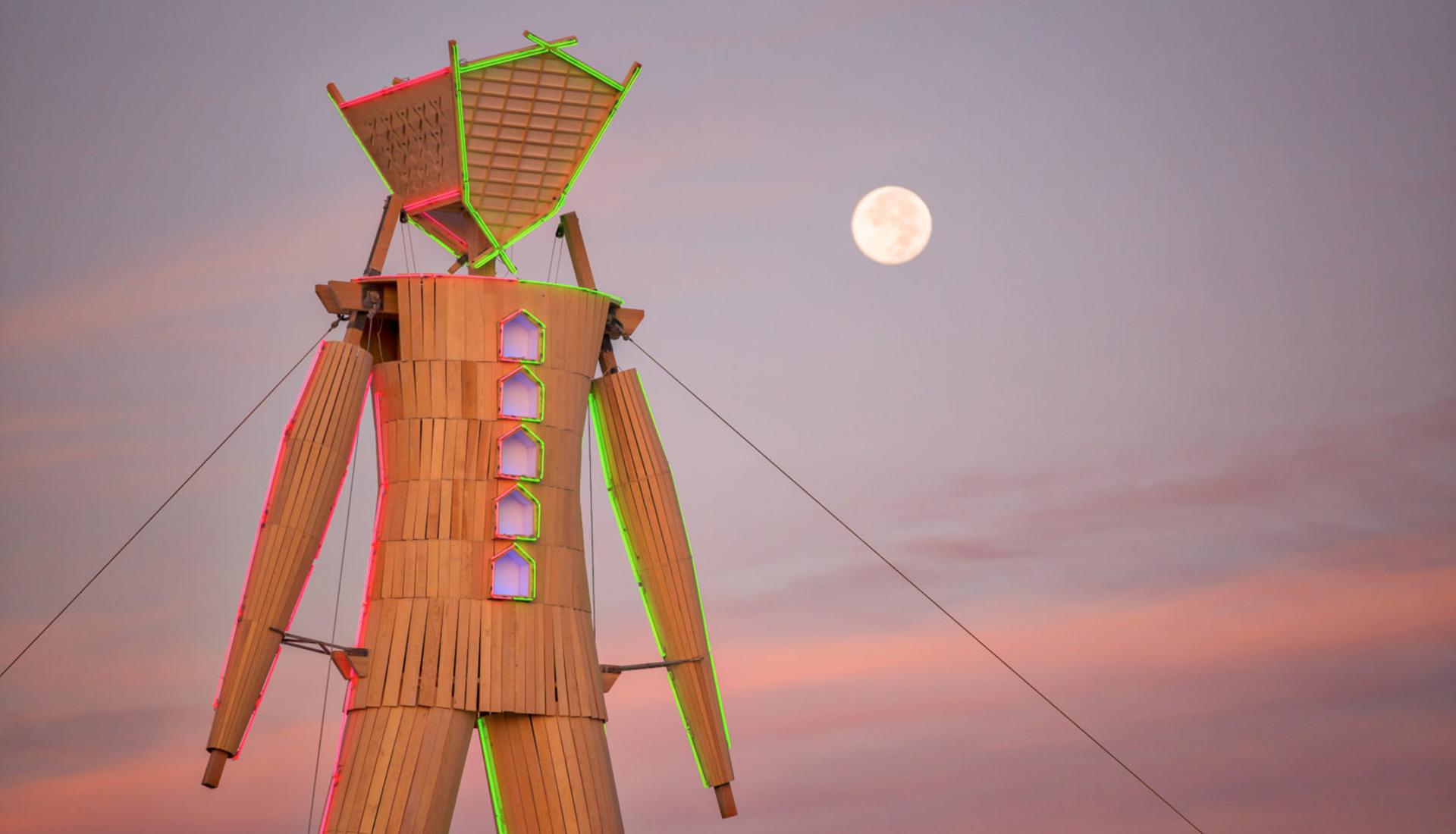 Burning Man 2020 фото