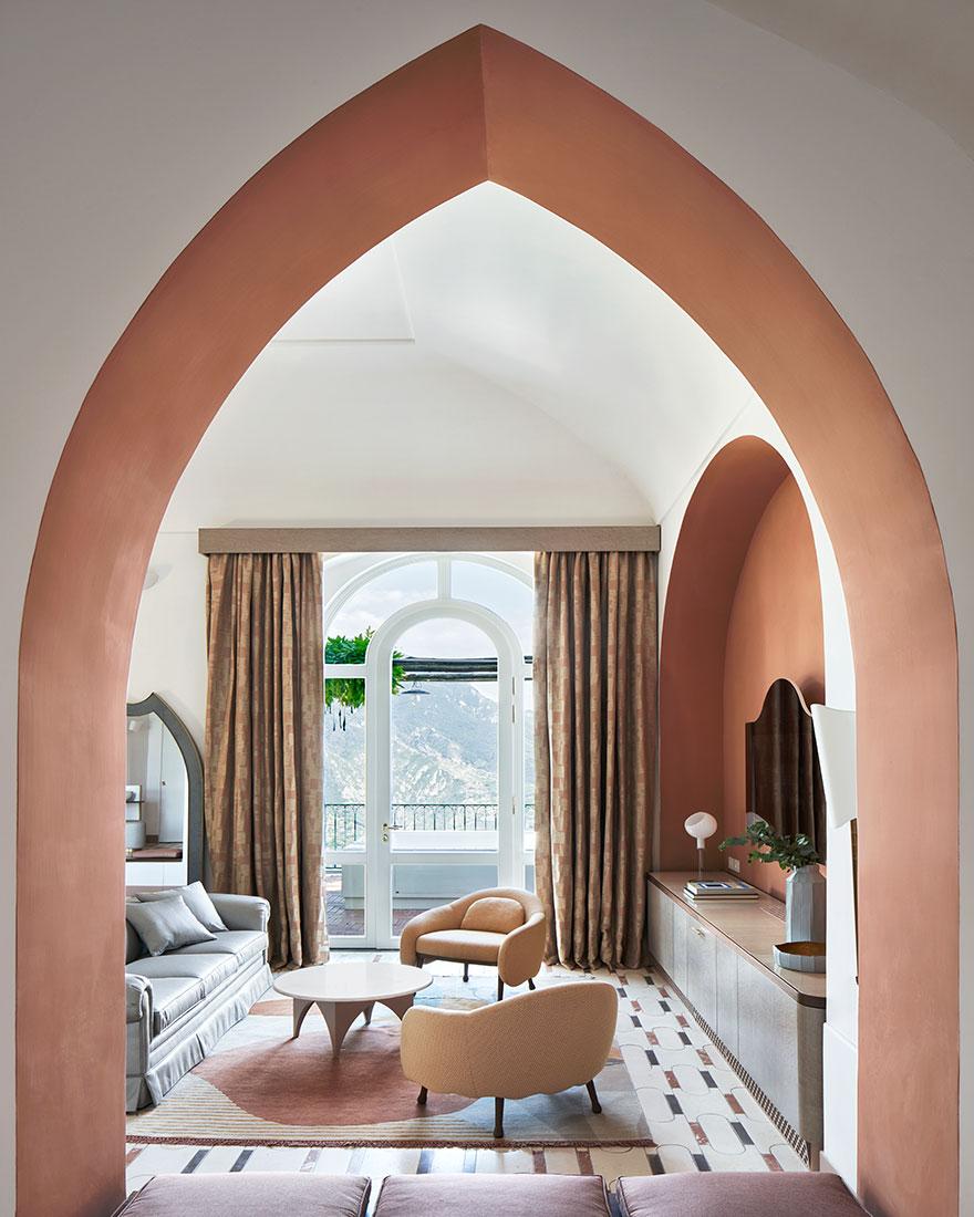 Дизайн интерьера отеля фото
