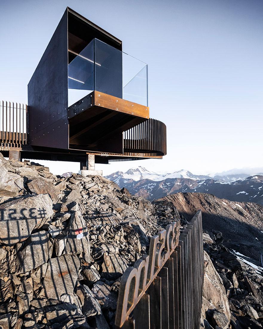 смотровая площадка в Альпах фото