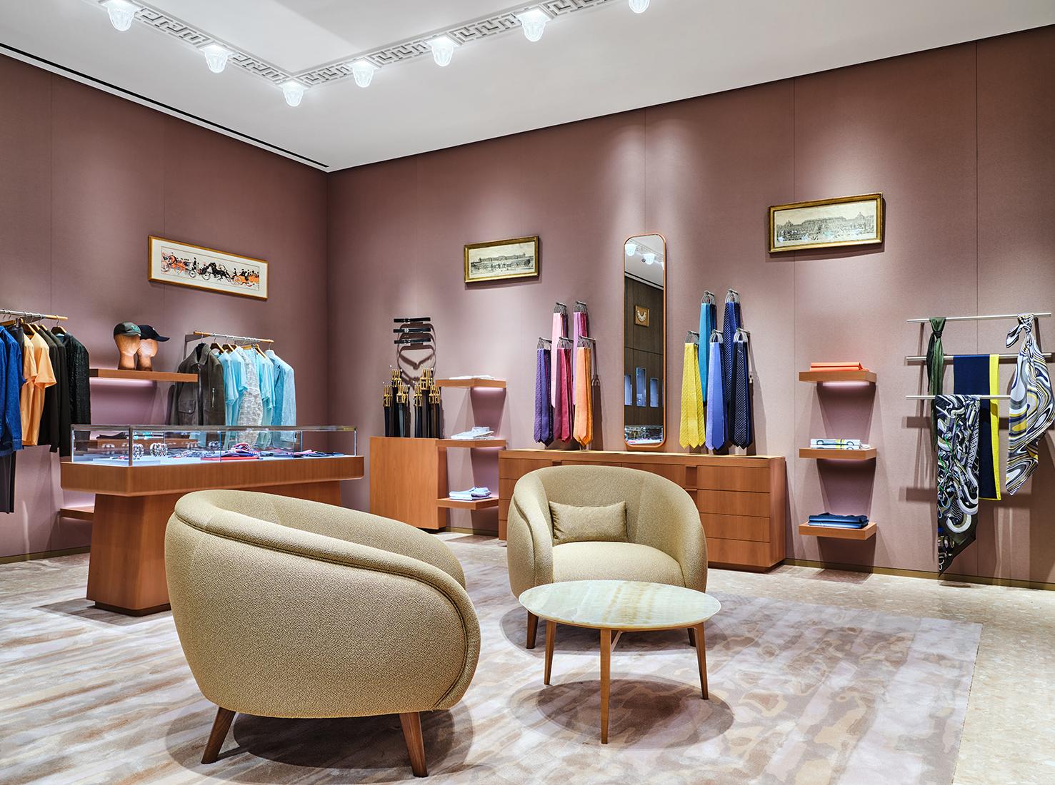 бутик Hermès в Москве фото