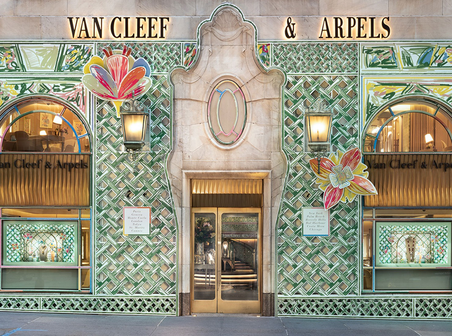 Бутик Van Cleef & Arpels Нью-йорк фото