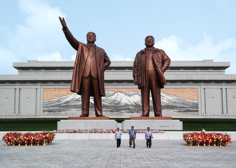 архитектура Северной Кореи фото