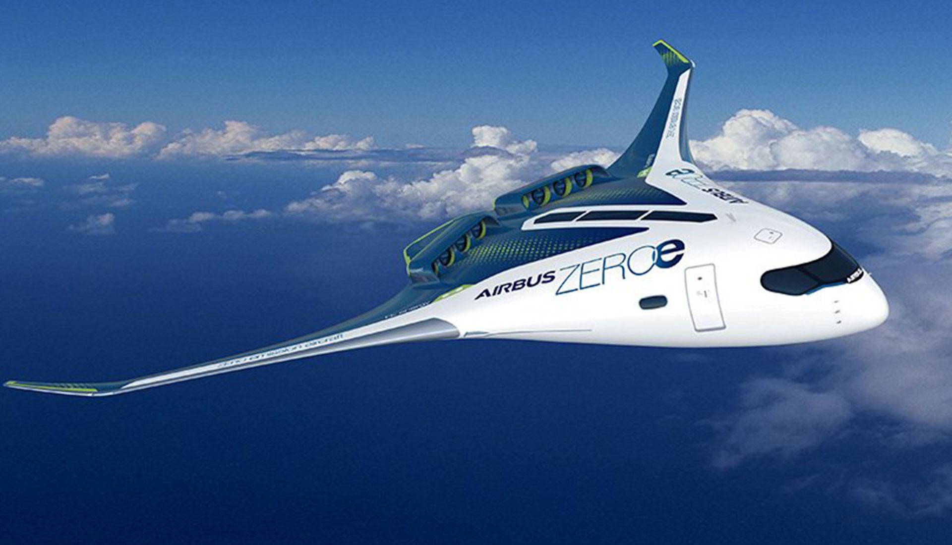 Самолет на водородном двигателе фото