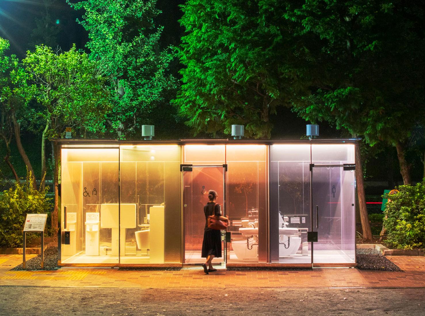 Туалеты в Токио фото