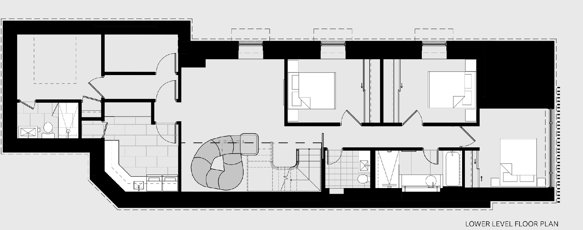 Планировка загородного дома фото