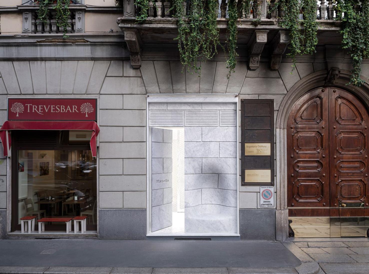Шоурум Marsotto в Милане фото