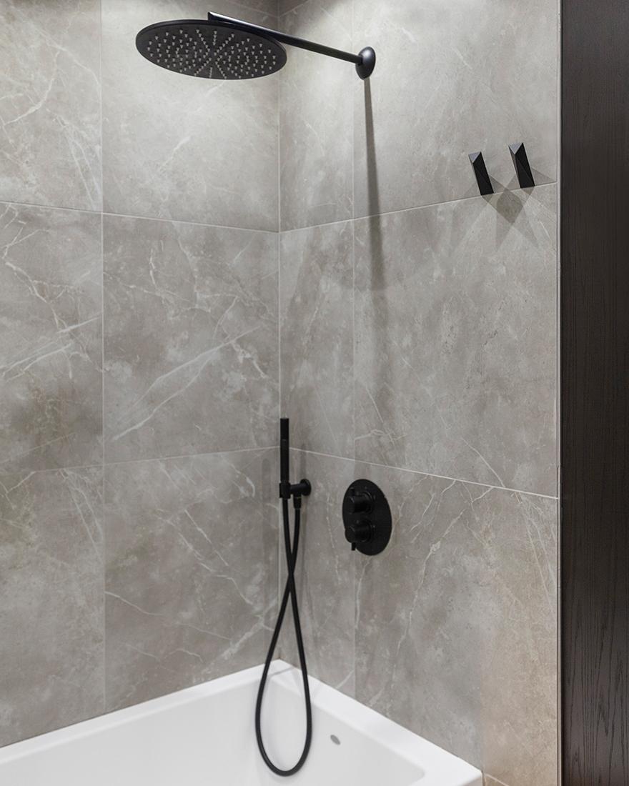 Серая ванная фото