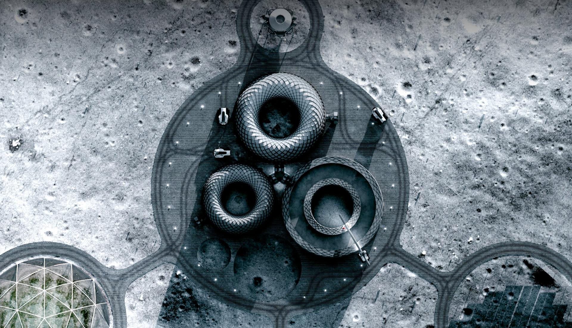 База на Луне фото