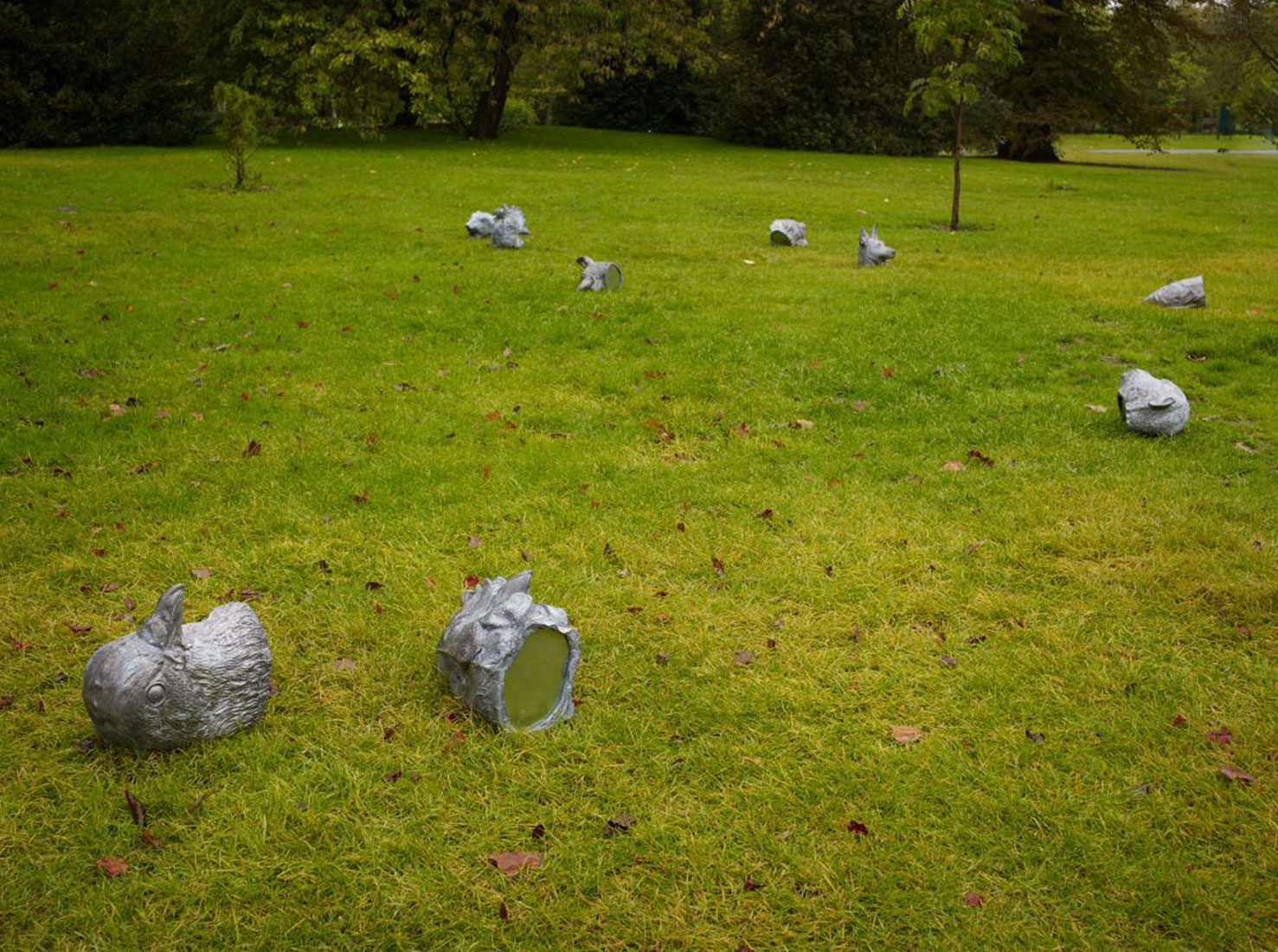 Выставка скульптур фото