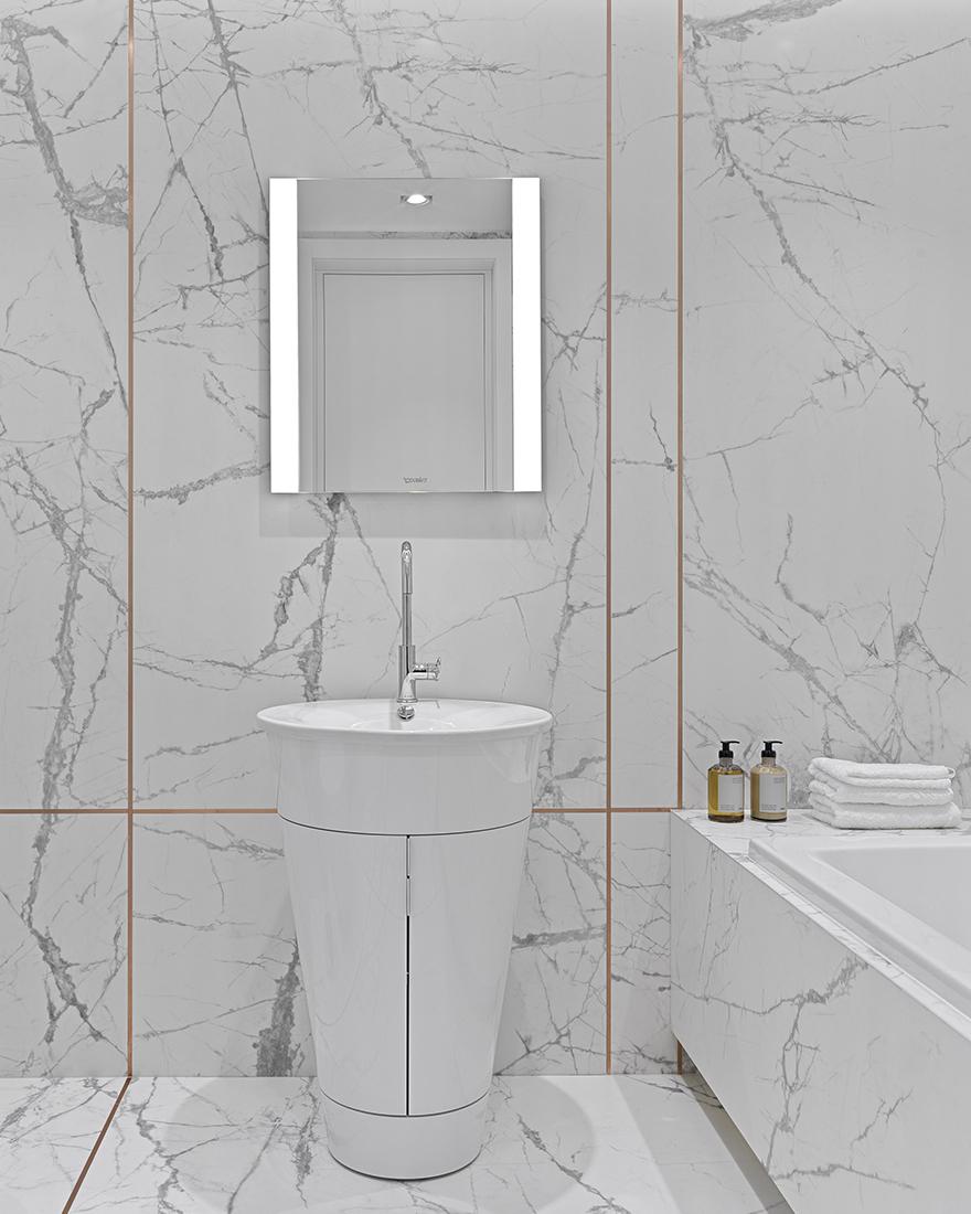 Белая ванная фото