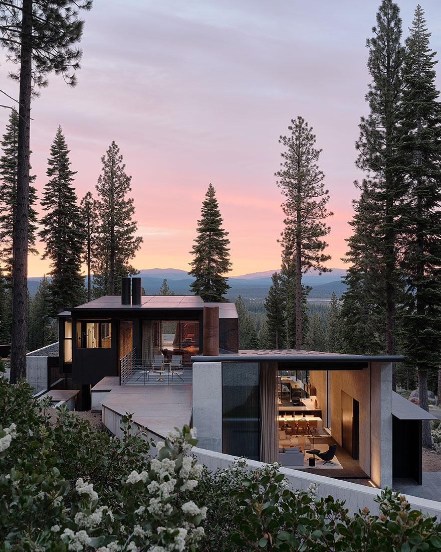 Дом в горах фото