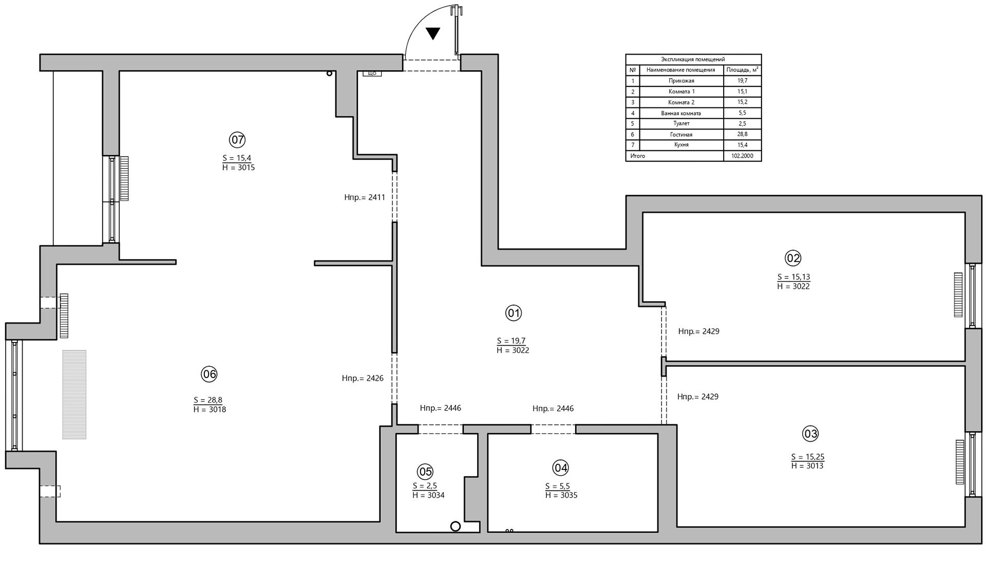 Планировка квартиры 100 кв м фото