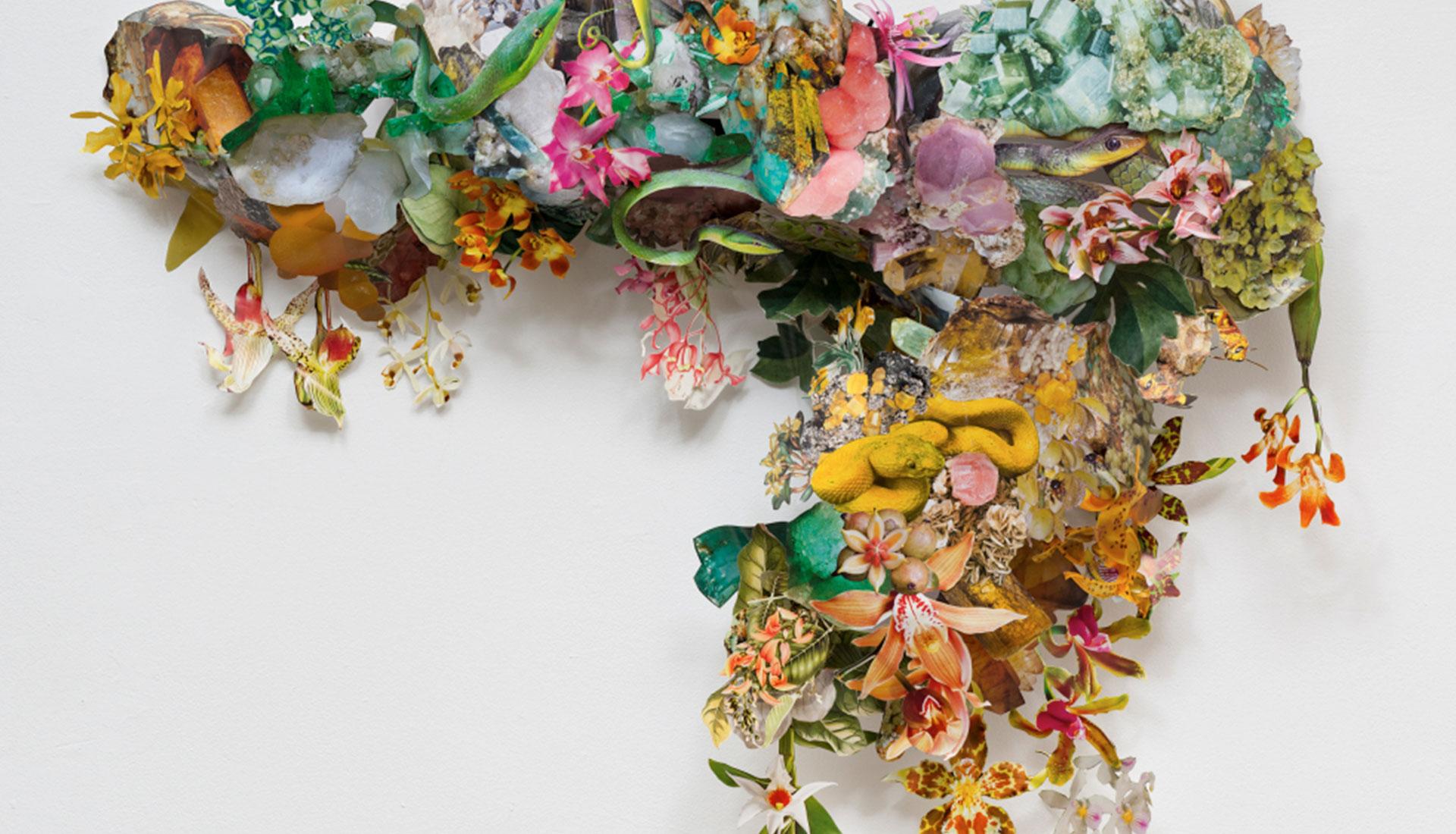 Коллажи с цветами фото