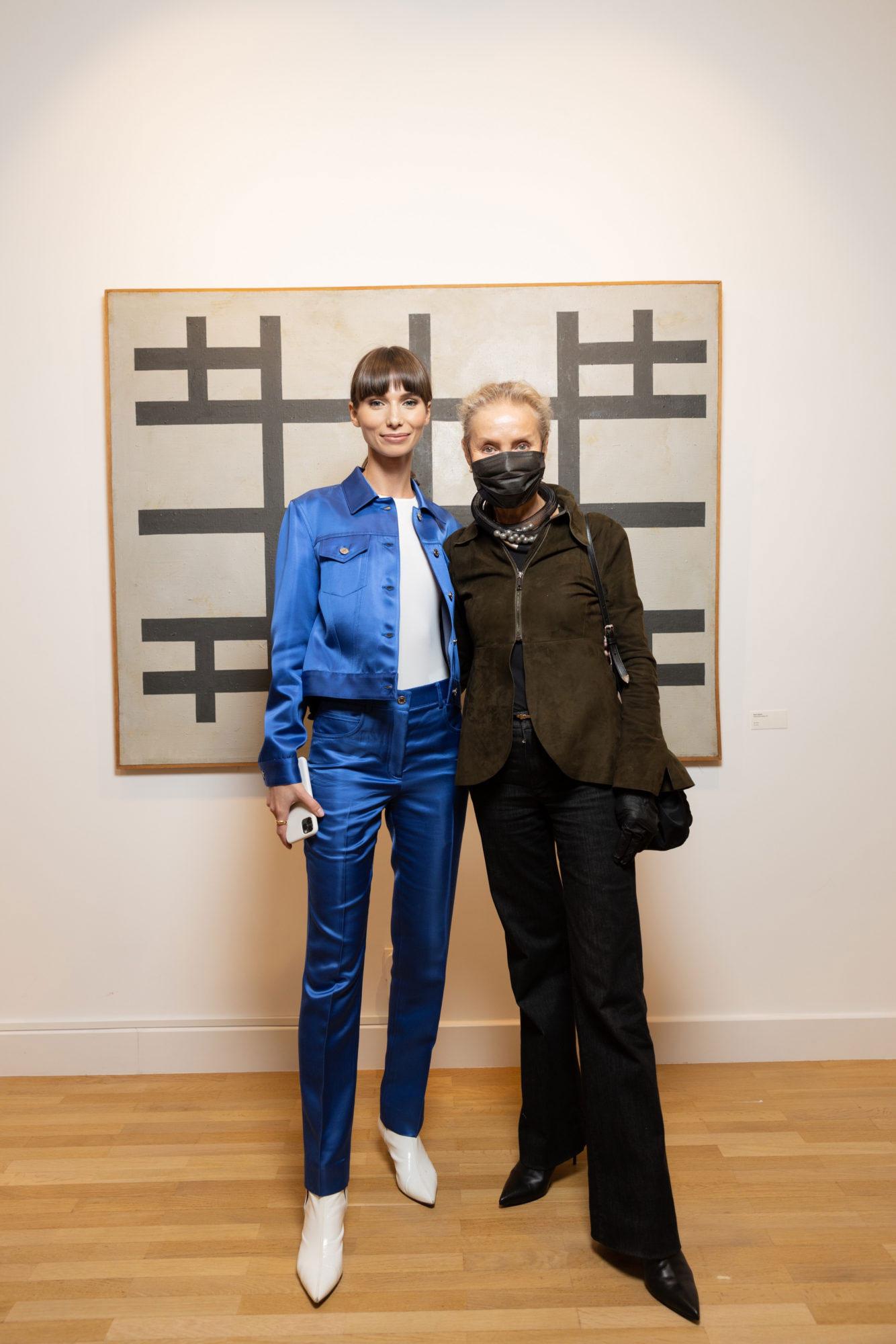 Алина Пинская и Ольга Свиблова фото