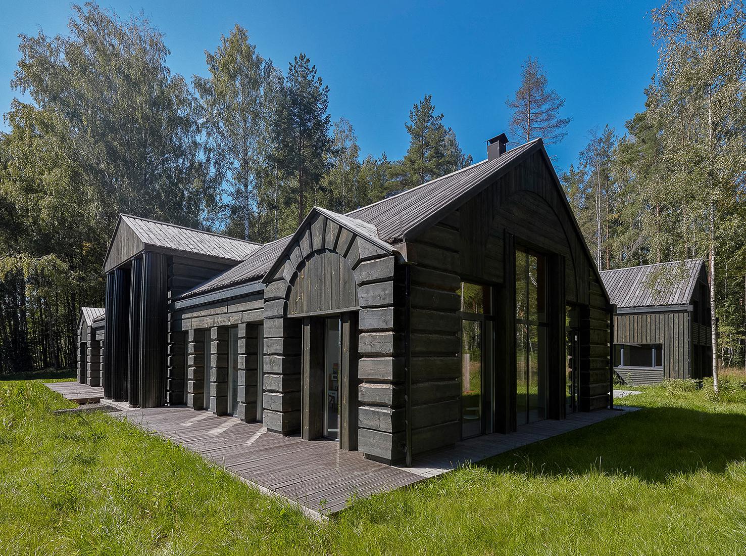 Деревянная архитектура фото