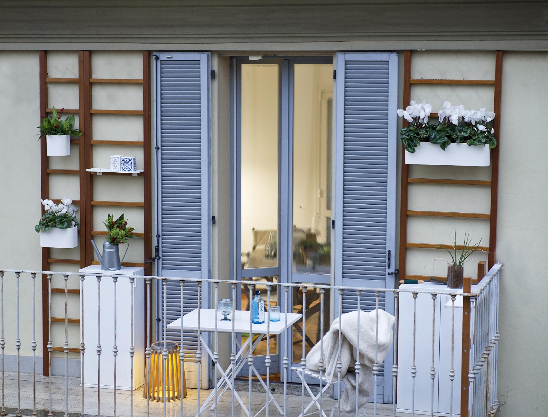 Сад на балконе фото