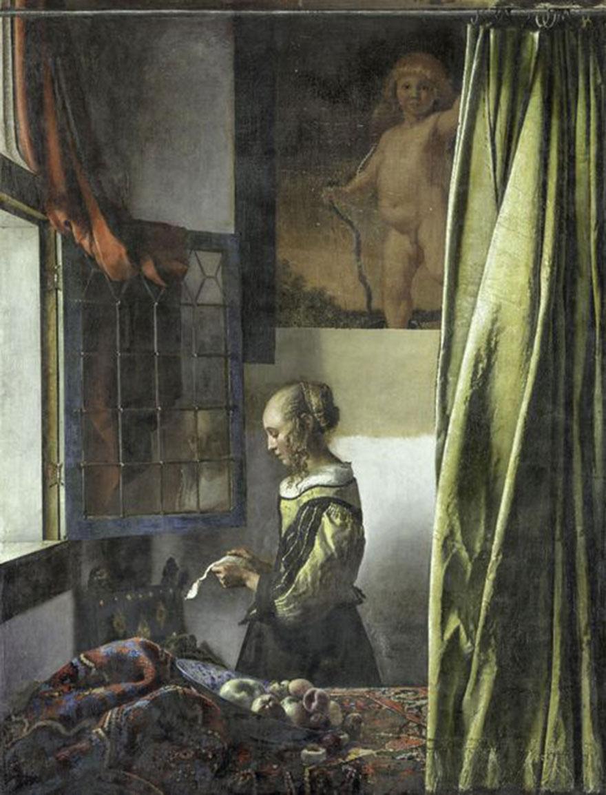 Вермеер картины фото