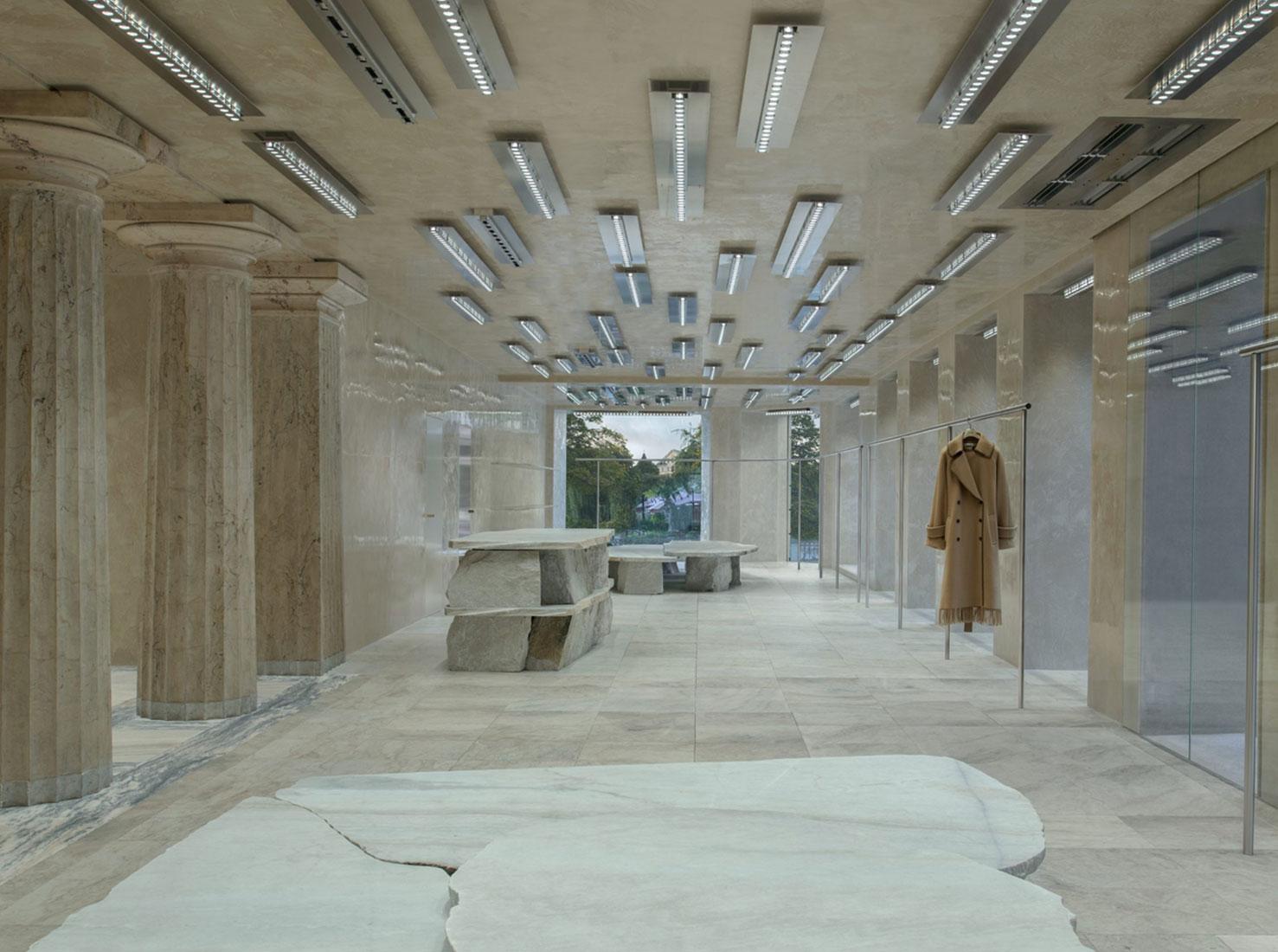 Acne Studios интерьеры фото