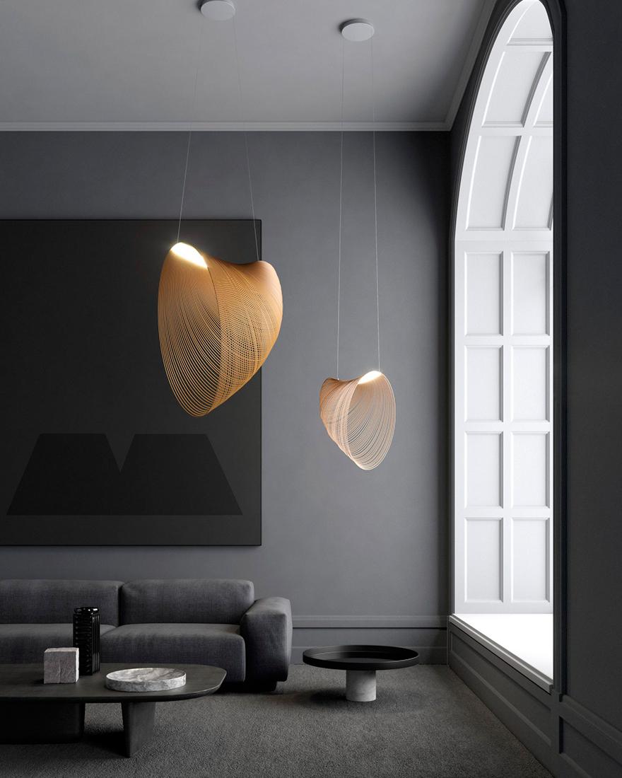 Светильник из фанеры фото