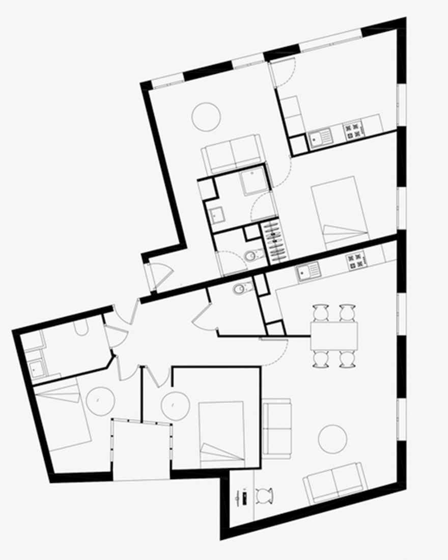 Планировка квартиры 110 кв м фото
