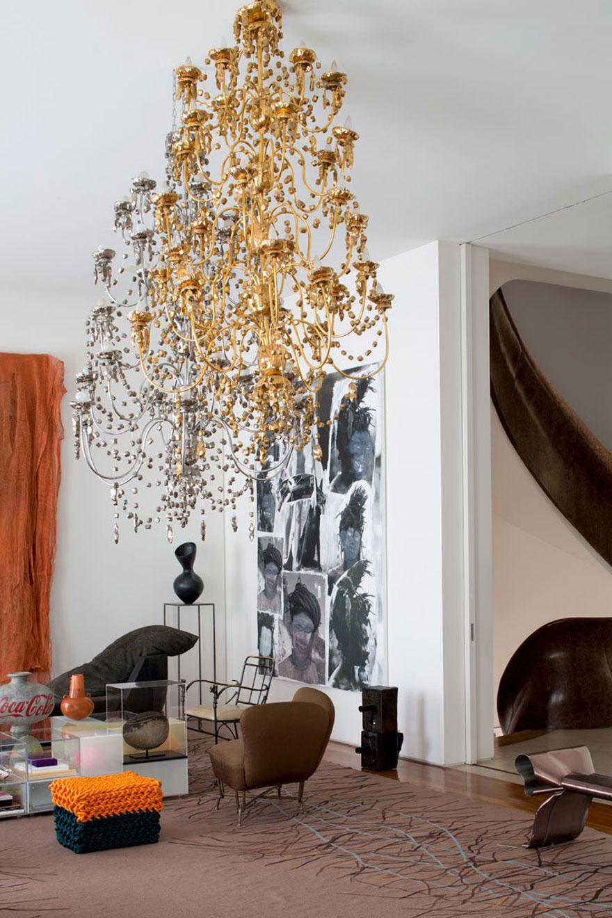 Ради искусства: в домах арт-дилеров фото