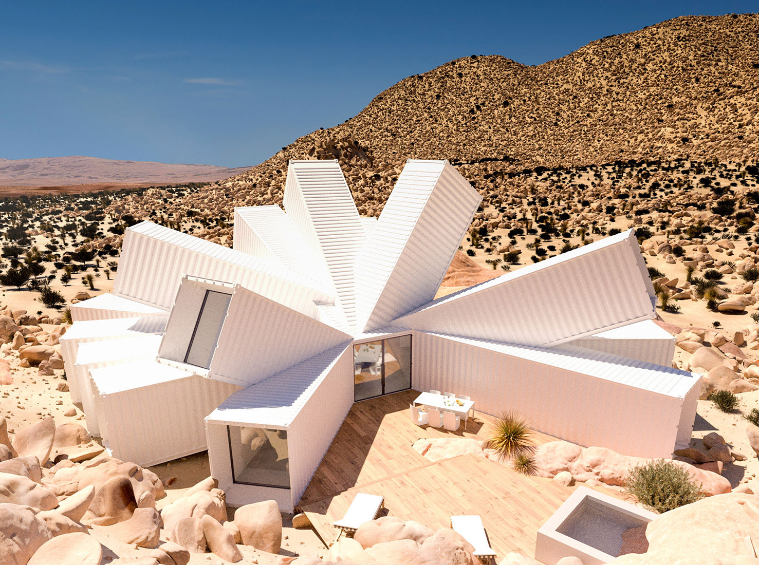 Дом из контейнеров фото