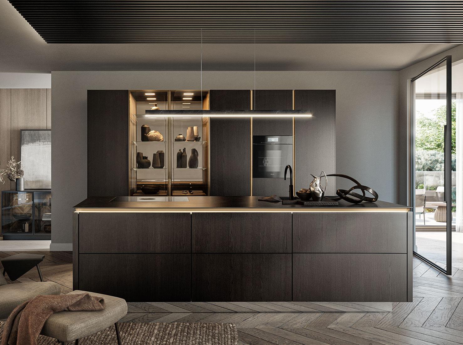 кухня SieMatic фото