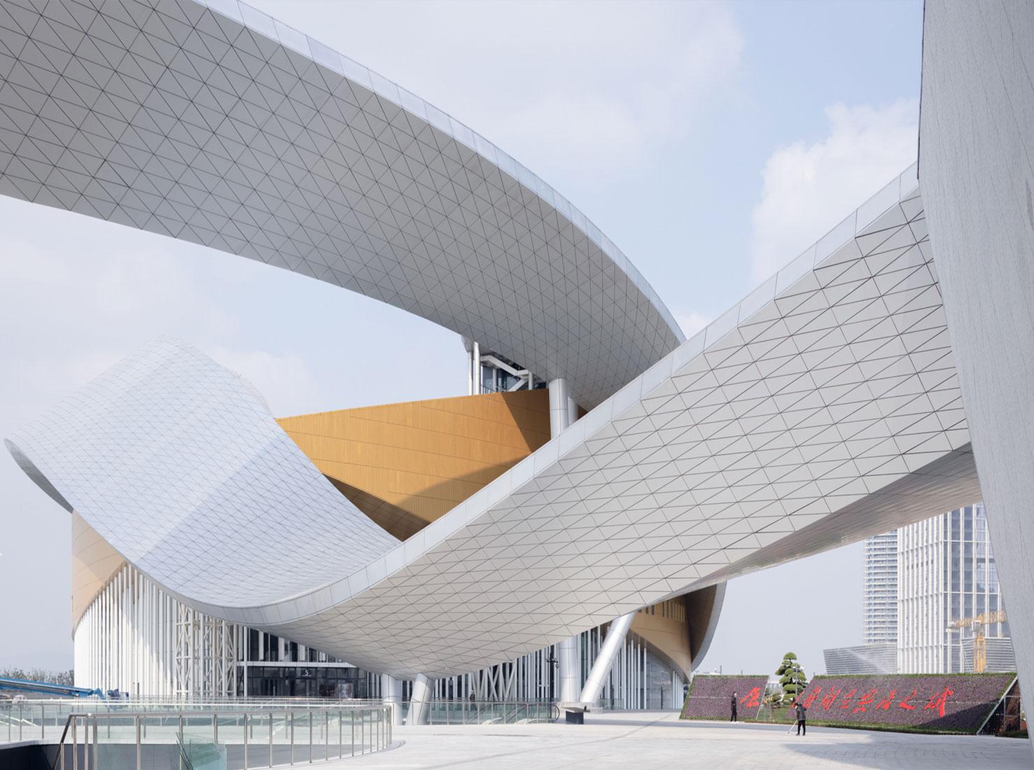 Современная архитектура необычные здания фото