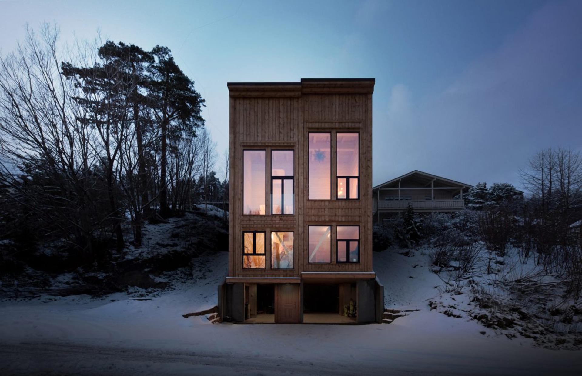 Скандинавская архитектура фото