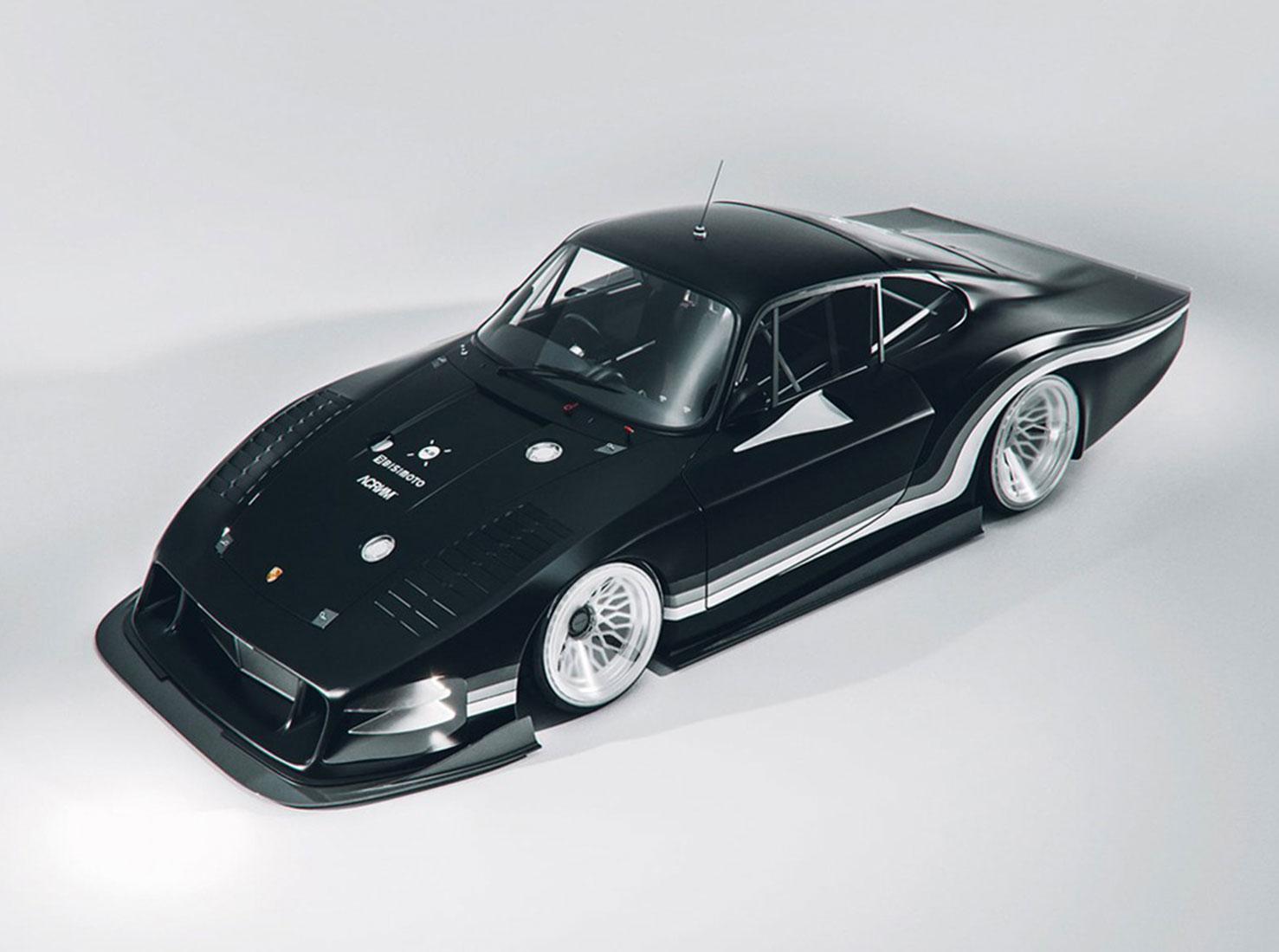 Porsche Moby X фото