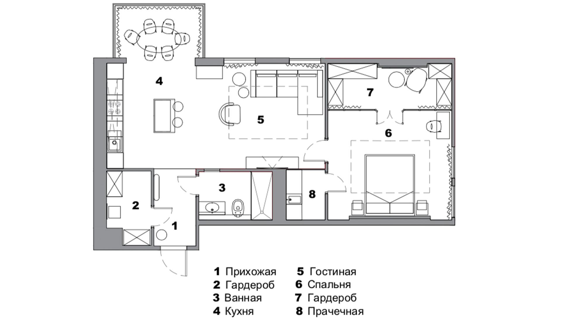 Планировка квартиры 85 кв м фото