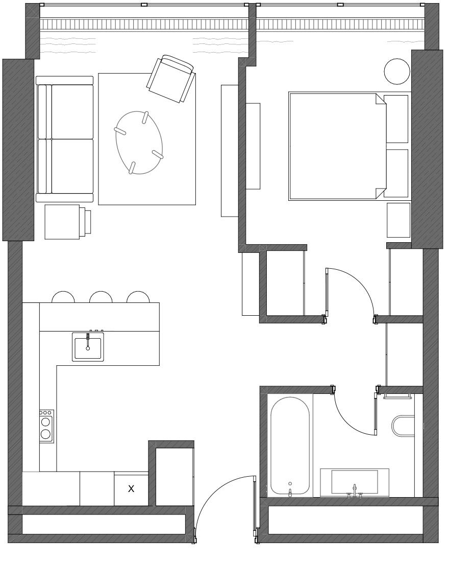 Планировка квартиры 60 кв м фото