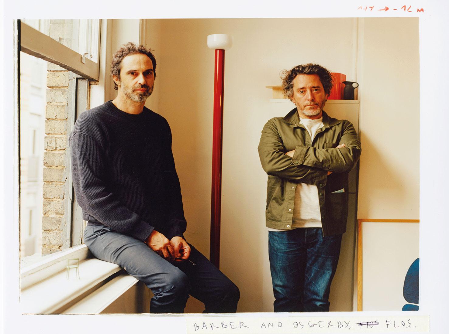Эдвард Барбер и Джей Осгерби фото